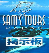 Sam'sToursPALAU 掲示板